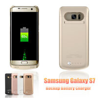 External Backup Power Battery Charger Power Bank Case For Samsung Galaxy S7