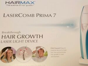 Hairmax Laser Comb PRIMA 7 for Women and Men