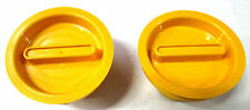 1972-1977 FORD F-250 LOCKOUT HUB ACTUATING KNOB - D2TZ-1A029-A ( YELLOW )