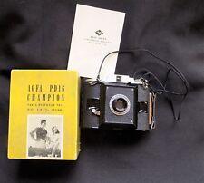 Vintage AGFA PD16 Champion Camera & Original Box 1939 Mid Century