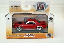 1970  Mercury Couger ELIMINATOR 1/64 Scale 32500 M2 Ground Pounder Red w/black