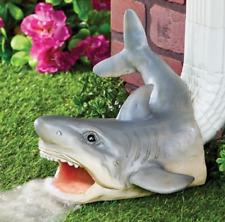 Shark Decor Rain Gutter Downspout Extension Water Diverter Garden Yard Outdoor