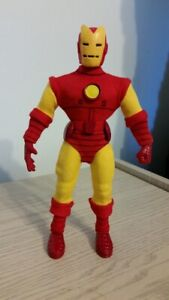 custom 9 inch IRON MAN  famous covers mego action figure  MARVEL COMICS