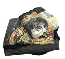 Harry Potter Bed Cover And Pillowcase Set Twin Size Pre-owned.