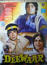 DEEWAAR - BOLLYWOOD DVD - Bollywood indian movie dvd - Amithabh Bachchan.