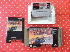 F-Zero SNES Super Nintendo in OVP mit Anleitung