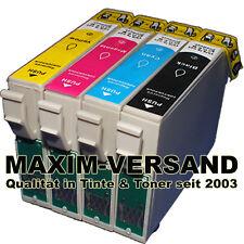 4x Farb-Patronen für Epson Expression Home XP302 XP305 XP312 XP313 XP315 XP315
