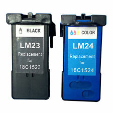 Reman ink Cartridge for Lexmark ILX23/24 (Black/Tri-Color) use in Lexmark X4530