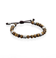 Fred Bennett Adjustable Tiger's Eye Bracelet 18 - 23cm