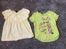 GAP KIDS, Little Girls Yellow Tops, Size 6-7.  Super Cute