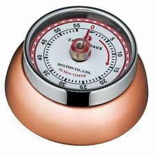 "Zassenhaus Retro Collection ""Speed"" Magnetic Kitchen Timer - Copper"
