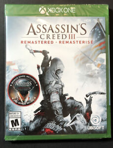Assassin's Creed III [ Remastered ] (XBOX ONE) NEW
