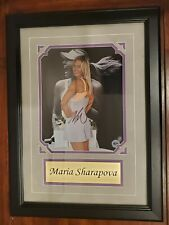 "Maria Sharapova Ace Authentic Signed Autographed Framed Photo RARE 14.5""x20"""
