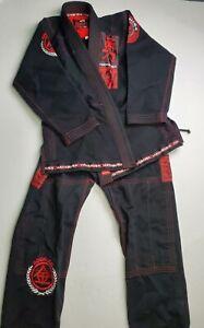 Hayabusa Black Jiu Jitsu Gi A2 Men's Martial Arts MMA