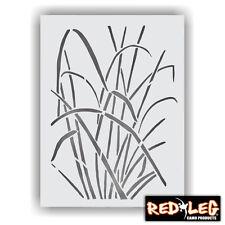 "Redleg Camo 1826NG 18""x26"" grass stencil duck boat wall"