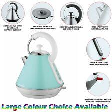 Mint Green Premium Electric Cordless Kettle Washable Filtr Rapid Boil 1.8L 2200W