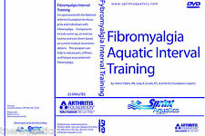 Fibromyalgia Aquatic Interval Training DVD FITNESS Swim Class Stress Relief