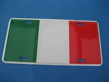 ITALIAN FLAG    NOVELTY PLATE  (PK61)