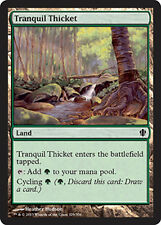 x4 Tranquil Thicket MTG Commander 2013 M/NM, English
