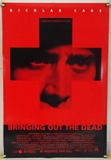 BRINGING OUT THE DEAD DS ROLLED ADV ORIG 1SH MOVIE POSTER MARTIN SCORSESE (1999)