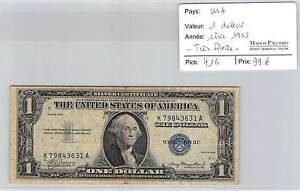 BILLET USA - 1 DOLLAR SERIE 1935 - TRES RARE!!!!!