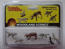 Woodland Scenics HO #1942 - Wildlife Standoff