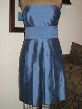ANN TAYLOR Designer Raw Silk Formal / Bridal Dress - Girls Sz 12 Excellent!!!