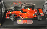 F1 FERRARI 2007 F2007 SCHUMACHER 1/18 d HOT WHEELS ELITE N5423 voiture formule 1