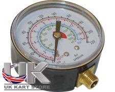 Voiture Chariot Moto Jauge Pression Pneu Tête 220 Psi 1/8 Bsp 28 Tpi Karting