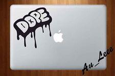 Macbook Air Pro Vinyl Skin Sticker Decal Dope Graffiti Art Word Slogan M617