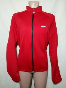 SMS Santini men's cycling jacket.Vintage.Long sleeves.Red.Italy.Size 48,L.