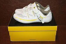 Mavic Ksyrium Elite 2 Womens Road Shoe White/Yellow 38 EU US 6.5 NWOB 377953