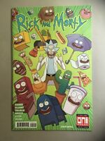 RICK AND MORTY #40 ELLERBY COVER ONI PRESS COMICS ADULT SWIM