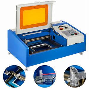 Amélioré USB CO2 40W Laser Graveur Machine De Gravure Laser 300x200mm Port USB
