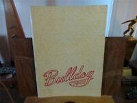 1947 ALGONA HIGH SCHOOL Iowa Original YEARBOOK Annual Bulldog