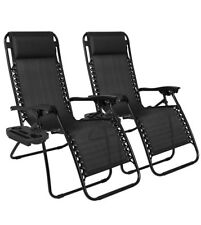 Zero Gravity Lounge Chair Set Of 2