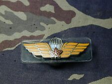Canadian Parachutist Canada dual qualif dress brass metal Airborne Jump wing