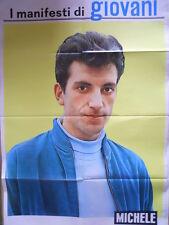 Poster Manifesti di GIOVANI 1967 73x50 cm - CANTANTE MICHELE  [D39-80]
