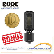 Rode NTR Active Studio Ribbon Microphone NT-R with BONUS FREE RODE GIFT