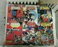 Tales of The Teen Titans comic book lot(DC,1980s)ROBIN WONDER GIRL CYBORG