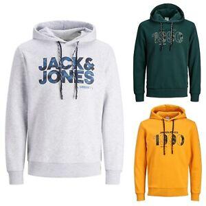 JACK&JONES Hombre Sudadera Jersey Cuello Capucha 23866