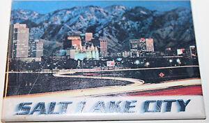 Salt Lake City Utah USA Kitchen Fridge Magnet