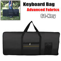 Lighweight 61-Key Electric Keyboard Piano Gig Bag Padded Protect Carry Case