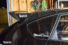 RPG Add On Extension Carbon Spoiler Wing for 08-14 Impreza WRX STi Hatch 5D GRF
