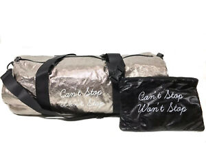 $48 NEW TwelveNYC Can't Stop Won't Stop Duffel Bag