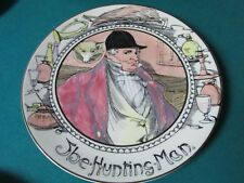 "Royal Doulton Antique Collector Plate The Hunting Man 10 1/2"" Tc1040"