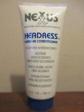 Nexxus Headress Leave-In Conditioner 3 oz * Became Liquid*