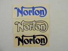 3 Vintage NOS Webco Norton Decals Commando Atlas P11 N15CS 2753rs
