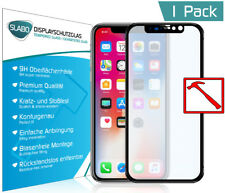 Slabo Panzerglasfolie für iPhone XS | iPhone X FULL COVER KLAR Tempered Glass 9H