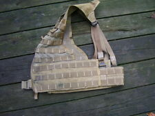 USED Fighting Load Carrier Tactical Vest LBV FLC USMC Coyote MOLLE II